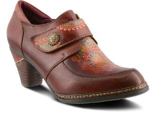 Spring Step L'Artiste Painted Embossed Leather Oxfords - Micki