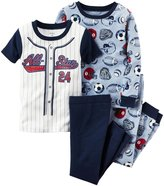 "Carter's Baby Boys' ""Future Legend"" 4-Piece Pajamas"
