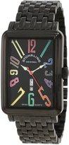 Stuhrling Original Men's Uptown Ozzie XL Elite Silvertone Watch 1102B.33591