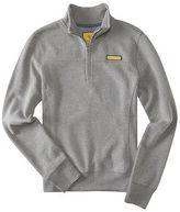 Aeropostale Womens Prince & Fox Solid Half Zip Sweatshirt