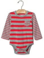 Gap Multi stripe pocket bodysuit