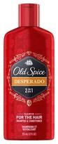 Old Spice Desperado 2 in 1 Shampoo & Conditioner - 12 oz