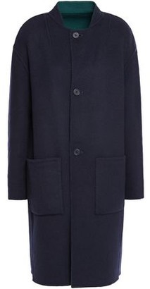 Theory Reversible Wool-blend Felt Coat