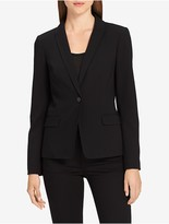 Calvin Klein Single Button Stitched Blazer