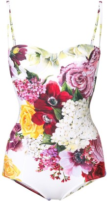 Dolce & Gabbana Floral One-Piece