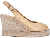Castaner open toe espadrille wedges - women - Leather/rubber - 35