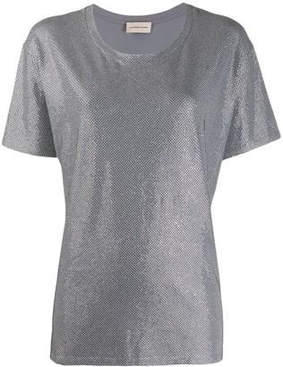 Alexandre Vauthier rhinestone embellished T-shirt