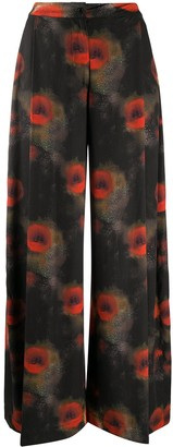 Henrik Vibskov Abstract~print Palazzo Trousers