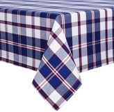 Sur La Table Red and Blue Plaid Tablecloth