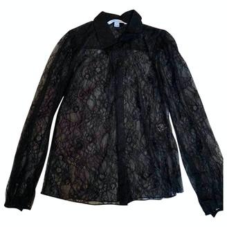 Diane von Furstenberg Black Lace Tops