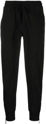 Thom Krom Fitted Drawstring Track Pants