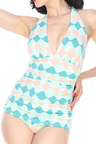 Bettie Page Pastel Dream Swimsuit