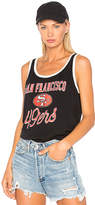 Junk Food Clothing 49ers Tank in Black. - size L (also in M,S,XS)