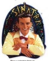 Carlton Frank Sinatra - I've Got You Under My Skin 2008 Cards Musical Christmas Ornament