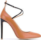 Giuseppe Zanotti Design contrast pumps - women - Leather - 37