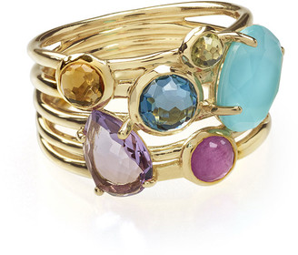 Ippolita 18k Rock Candy Gelato 6-Stone Cluster Ring