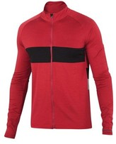 Ibex Men's Spoke Long Sleeve Full Zip Cycling Jersey