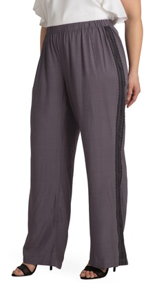 Standards & Practices Clare Lace Stripe Pants