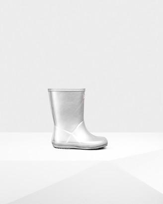 Hunter Original Kids First Classic Metallic Rain Boots
