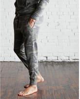 Express camo vintage fleece jogger pant