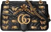 Gucci GG Marmont animal studs shoulder bag