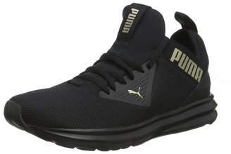 Puma Women's Enzo Beta WN's Running Shoes Black-Metallic Gold 8.5 UK 42.5 EU