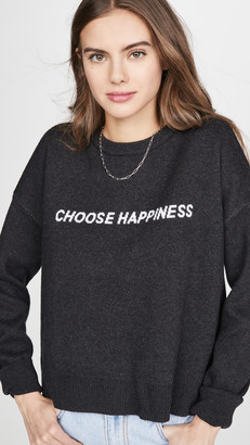 Spiritual Gangster Happiness Glow Up Sweater
