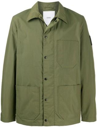 Closed Multi-Pocket Shirt Jacket