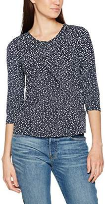 Bonita Women's Gemustert, 3/4-Arm T-Shirt,(Manufacturer Size: Large)