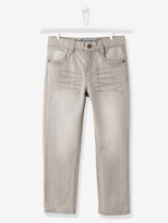 NARROW Fit - Boys Staight Cut Jeans - stone, Boys | Vertbaudet