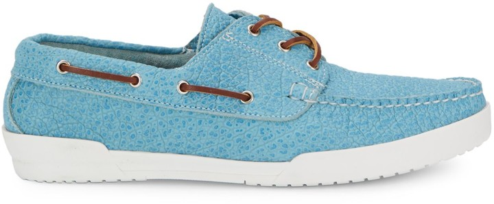 Eastland Textured Leather Boat Shoes