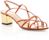 Charlotte Olympia Beth Strappy Slingback Sandals