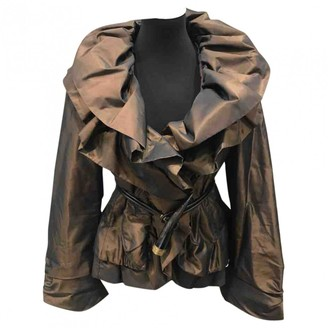 Moncler Brown Coat for Women