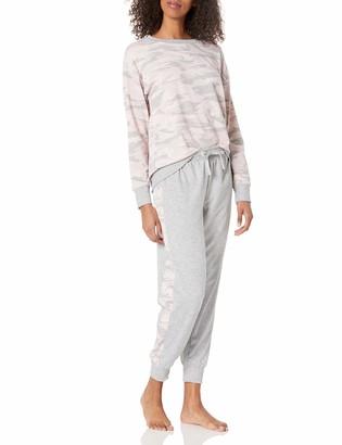 Splendid Women's Pajama Pullover Sweatshirt & Sweatpant Lounge Set