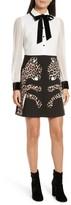 Kate Spade Women's Leopard Applique Shirtdress