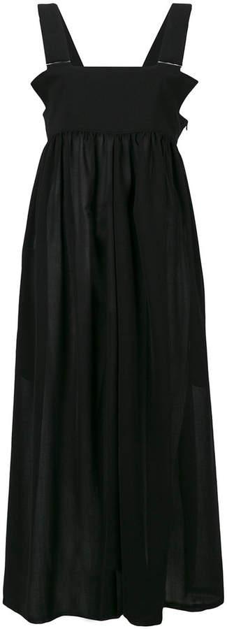 Y's midi apron dress
