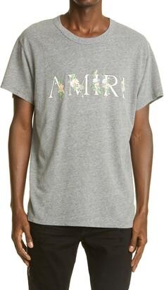 Amiri Floral Logo Men's Graphic Tee