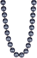 16-17mm Gray Shell Pearl Necklace
