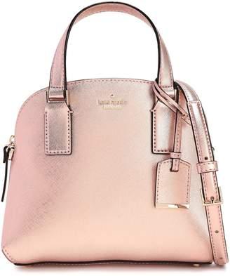 Kate Spade Cameron Street Lottie Metallic Textured-leather Shoulder Bag