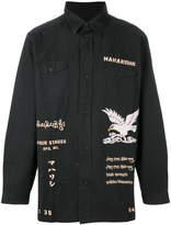 MHI front eagle printed shirt