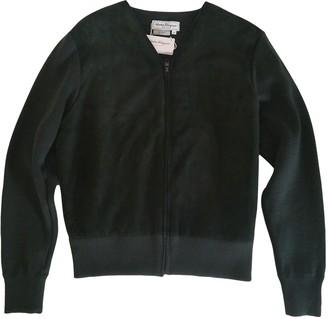 Salvatore Ferragamo Green Wool Jackets
