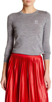 Love Moschino Logo Wool Blend Sweater