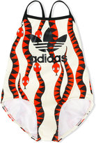 Mini Rodini Adidas X snake pattern swimsuit