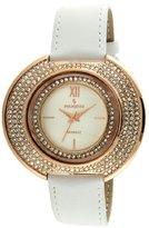 Peugeot Women's J6371RWT Analog Display Japanese Quartz White Watch