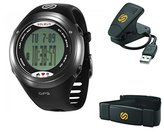 Soleus Unisex SG004-026 GPS Tour Black and Stainless Steel Digital Watch