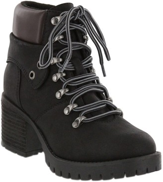 Mia Lace-Up Ankle Boots - Ben