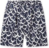 Marni - Printed Cotton-twill Shorts