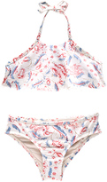 Zimmermann Zephyr Flare Halter Bikini Set