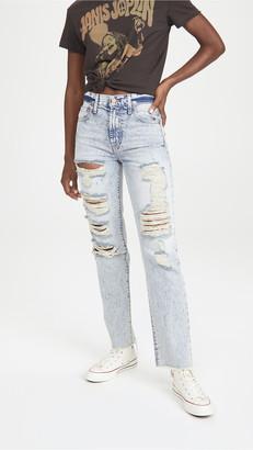 Alice + Olivia Jeans Amazing High Rise Boyfriend Jeans