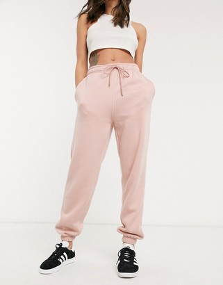 Topshop joggers in pink